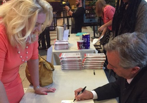 Dr. McKenzie, Book Signing by Robert Kennedy Jr.