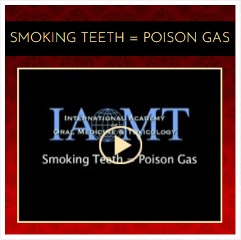 Smoking teeth poison gas