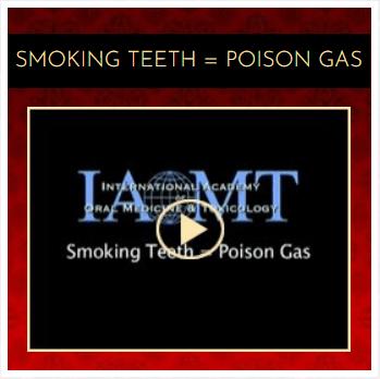 Smoking teeth poison gas